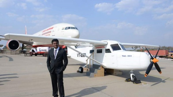 Pilot Builds Aircraft On His Terrace; Signs Rs 35,000 Crore MoU With Maharashtra Government