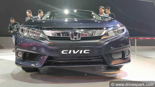 Auto Expo 2018: Honda Civic Showcased