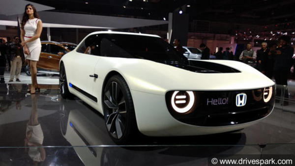 Auto Expo 2018 Honda Cars Sports Ev Concept