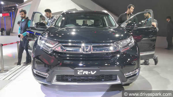 Auto Expo 2018: Honda CR-V Showcased
