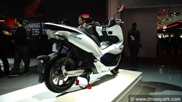 Auto Expo 2018: Honda PCX Electric Concept Showcased - Specifications, Features & Images