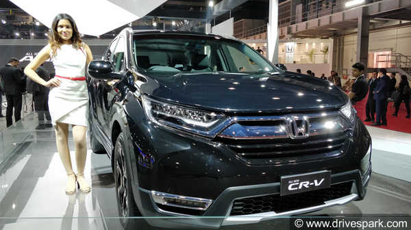 Honda Cr V First Look Review Expected Price Launch Date Specs
