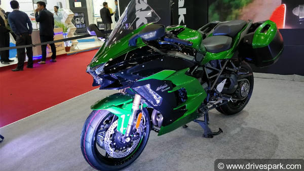 Auto Expo 2018 Kawasaki Ninja H2 SX Launched In India