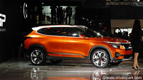 Kia SP Concept Compact SUV; Expected Launch, Features, Rivals & Images