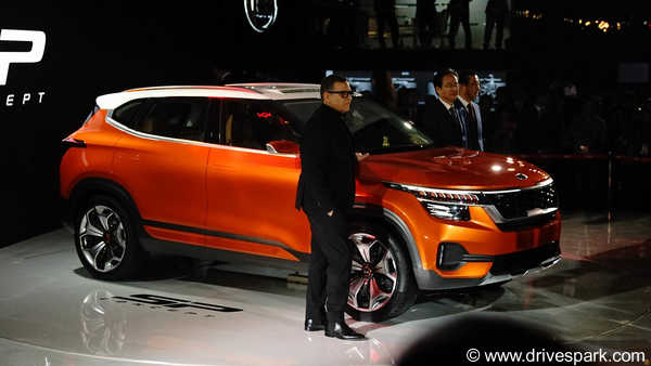 Auto Expo 2018: Kia SP Concept - Expected Launch Date & Price, Specifications, Mileage, Features & Images