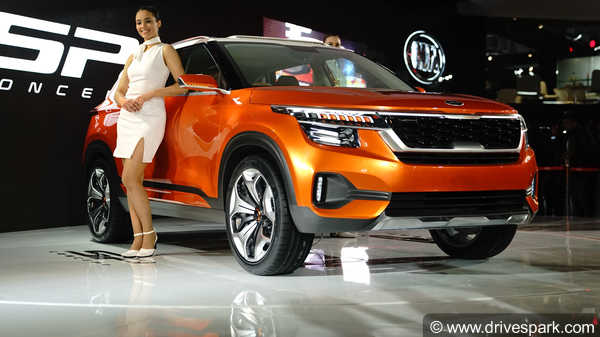Kia Sp Concept Compact Suv Expected Launch Features Rivals
