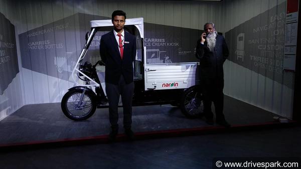 Auto Expo 2018: Lohia Auto Showcases Its Electric Range Of Vehicles