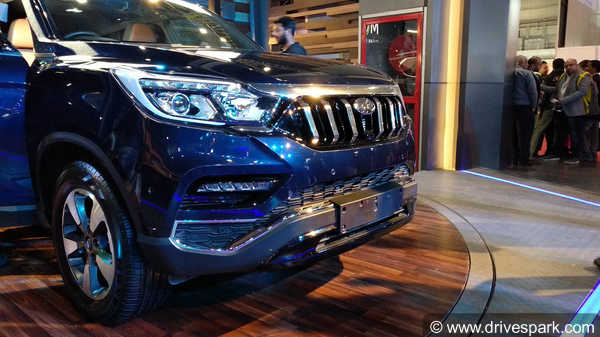 Auto Expo 2018: Mahindra-Badged G4 Rexton Showcased — Specifications & Images