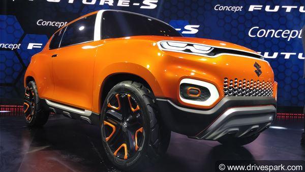 Auto Expo 2018 Maruti Concept Future S Unveiled