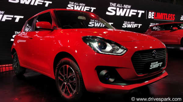 New Maruti Swift 2018 Variants In Detail