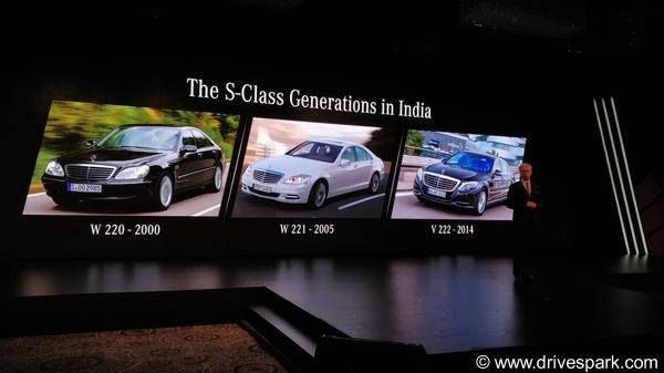 Journey Of The Mercedes-Benz S-Class In India