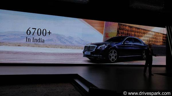 Mercedes-Benz S-Class Sales In India