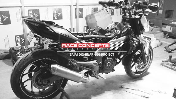 India's Most Powerful Dominar 400 By Race Concepts Produces