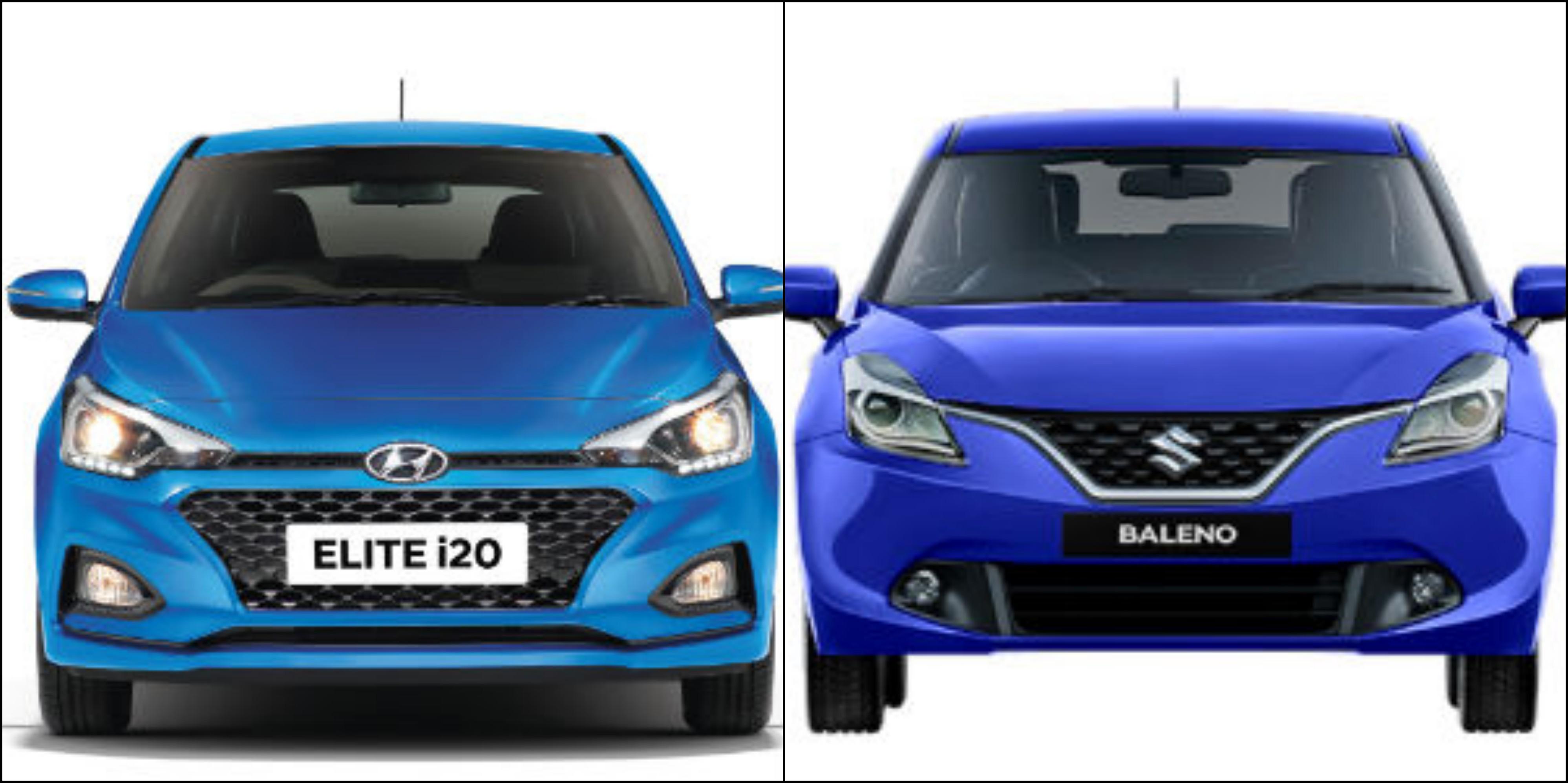 New Hyundai i20 Facelift Vs Maruti Baleno Comparison: Price, Design,  Specifications, Features & Mileage - DriveSpark News