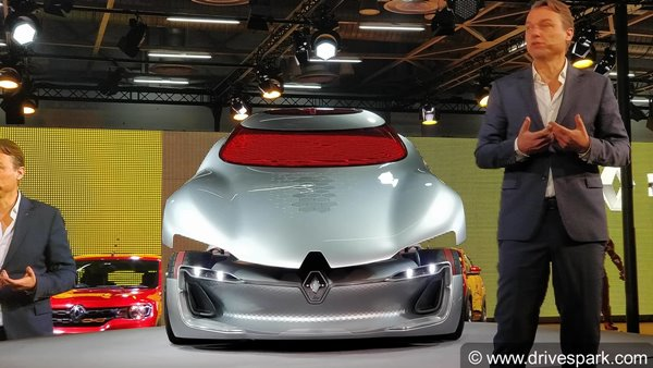 Auto Expo 2018: Bewitching Renault Trezor Concept Showcased