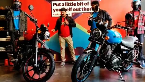 Siddhartha Lal, CEO, Royal Enfield Explains The Styling Of The Thunderbird X Range