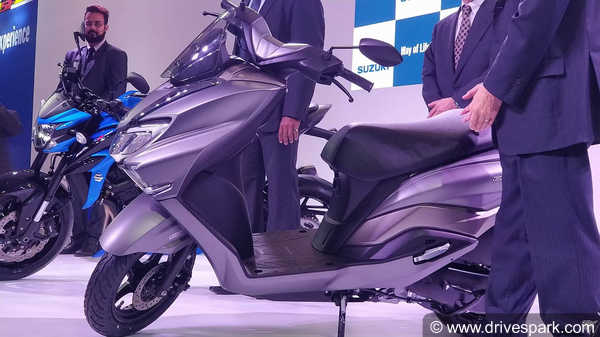 Auto Expo 2018: Suzuki Burgman Street Revealed - Expected Launch Date & Price, Features & Images