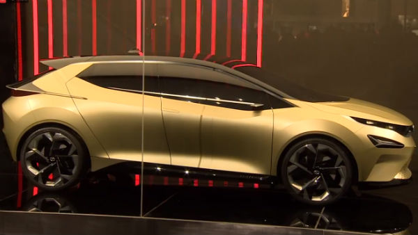 Tata 45X Concept Premium Hatchback Revealed