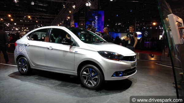 Auto Expo 2018: Tata Tiago EV And Tigor EV Showcased