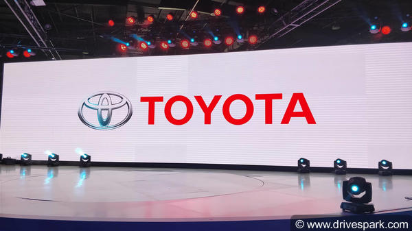 Toyota At Auto Expo 2018