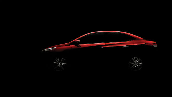 Auto Expo 2018: Toyota Vios Teased Ahead Of Debut In India; Expected Price, Specifications & More