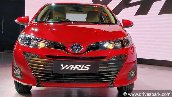 Auto Expo 2018: New Toyota Yaris First Look