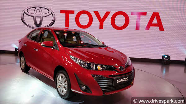 Auto Expo 2018: Toyota Drives in Yaris Sedan for Indian Market