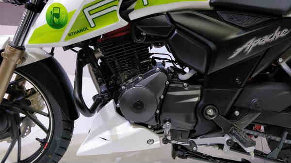 Auto Expo 2018: TVS Apache RTR 200 Fi Ethanol Showcased — Specifications & Images