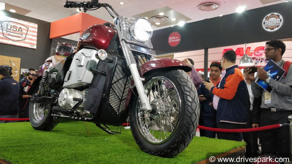 Auto Expo 2018: UM Renegade Thor Electric Cruiser Launched In India