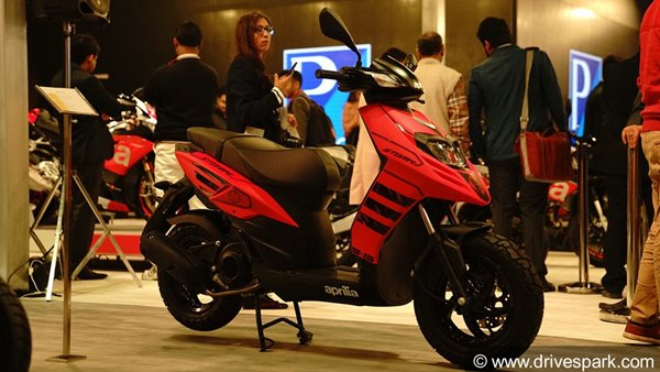 Auto Expo 2018: Aprilia Storm 125 Unveiled - Expected Launch Date, Price, Specifications, Features & Images