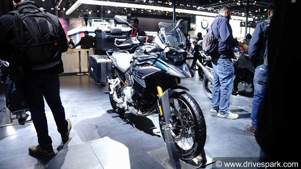 Auto Expo 2018: BMW F 750 GS And F 850 GS Launched In India - Price, Specifications,Features & Images