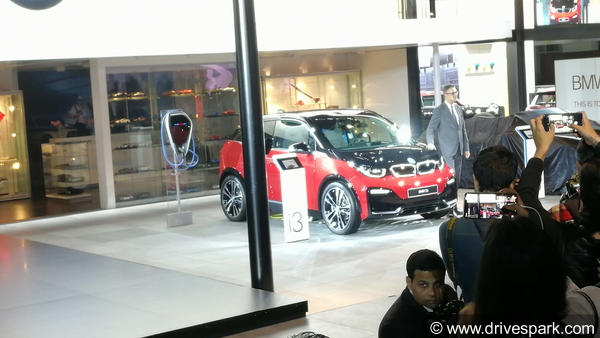 BMW i3 &new BMW i8 Showcased In India