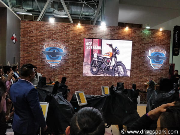 Auto Expo 2018: Cleveland CycleWerks Begins The Proceedings Of Day 2