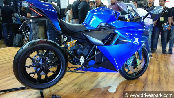 Auto Expo 2018: Emflux One Electric Superbike Launched In India