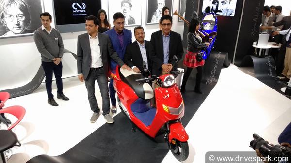 Auto Expo 2018: Twenty Two Motors Reveals Electric Scooters