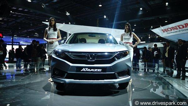 All-New 2018 Honda Amaze Revealed At The Auto Expo 2018