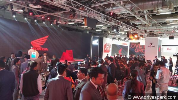 Honda Motorcycles At Auto Expo 2018
