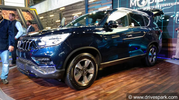 Mahindra Flagship SUV (Rexton) Revealed