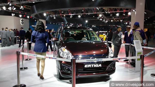 Auto Expo 2018: New Maruti Ertiga Special Edition Showcased