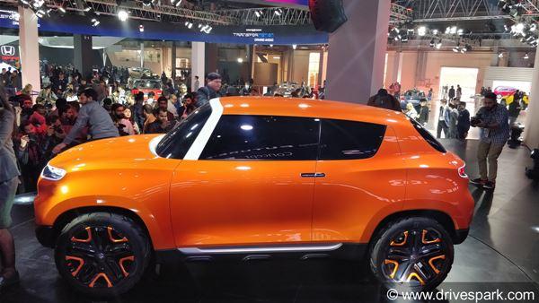 Auto Expo 2018 Maruti Future Concept S Unveiled