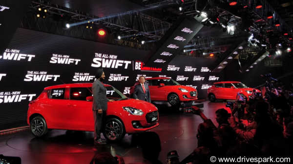 Auto Expo 2018: New Maruti Swift Launched At Rs 4.99 lakh