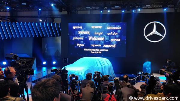 Mercedes-Benz At Auto Expo 2018