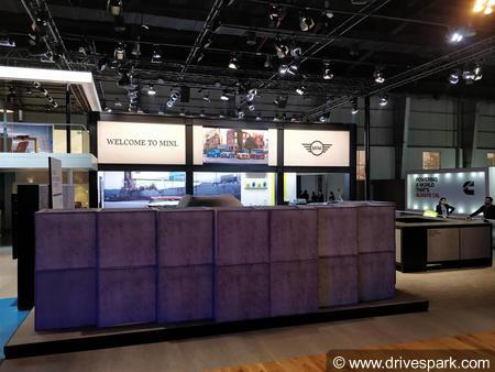 MINI At Auto Expo 2018
