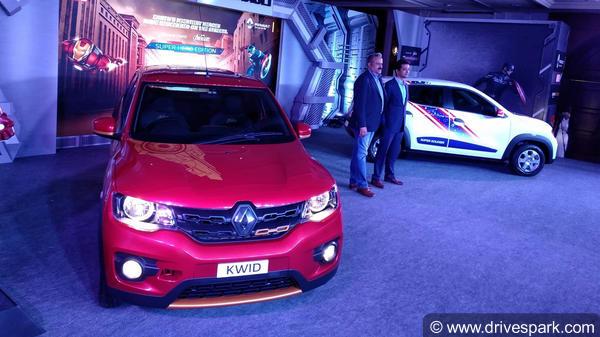 Renault will launch kwid superhero edition in india