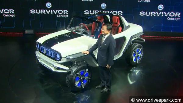 Suzuki e Survivor Concept SUV Showcased