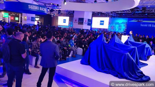 Suzuki Motorcycles At Auto Expo 2018