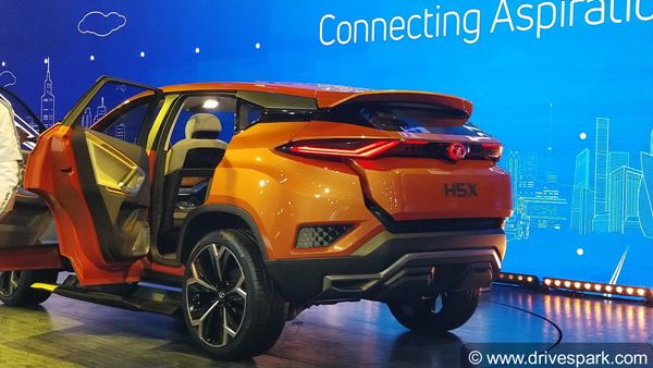 Auto Expo 2018: Tata H5X Concept SUV Revealed - Features ...