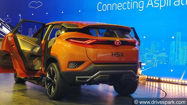Tata Harrier Aka H5x Concept Top Features Impact Design 2