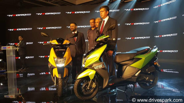 TVS NTorq 125 Launched At Rs 58,750 Iin India - Specifications, Mileage, Features, Images, Colours & Competitors