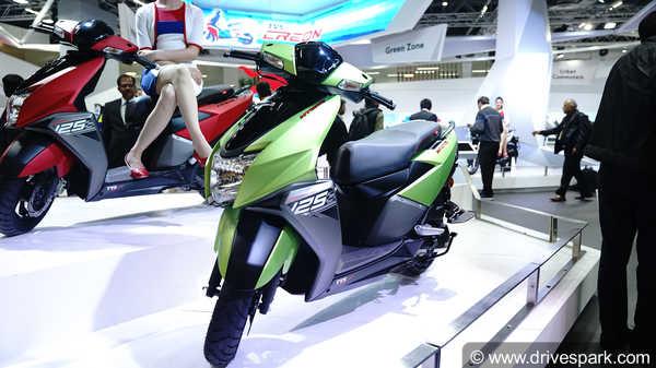 Tvs Ntorq 125 First Look Review Drivespark News